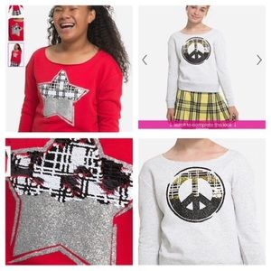 2 justice sweaters